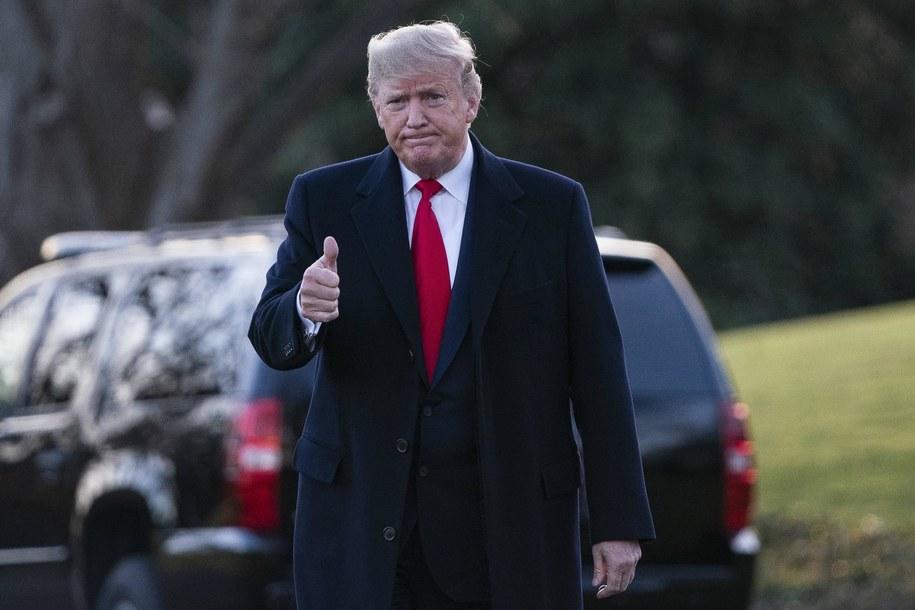 Donald Trump /Alex Edelman /PAP