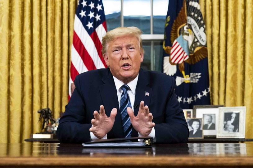 Donald Trump /Doug Mills / POOL /PAP/EPA