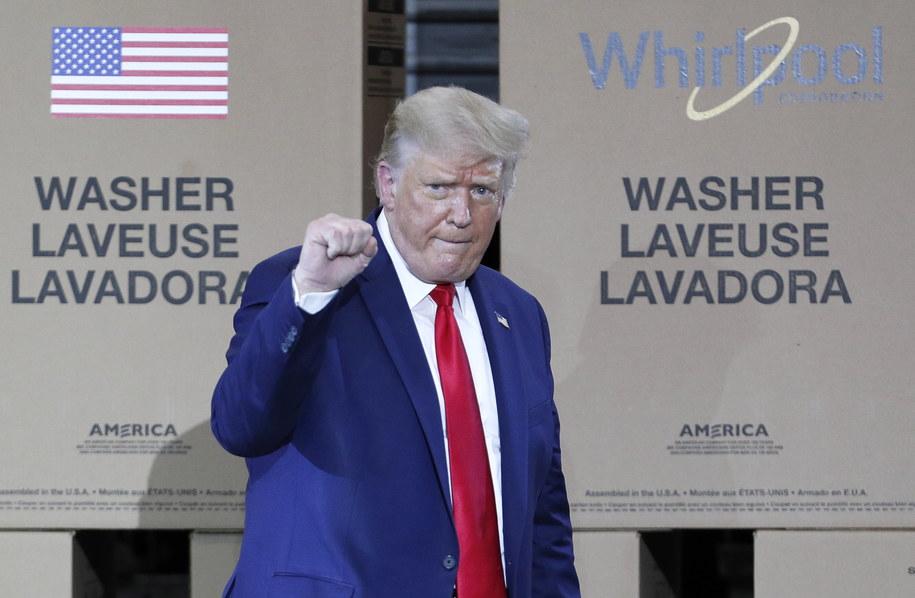 Donald Trump /DAVID MAXWELL /PAP/EPA
