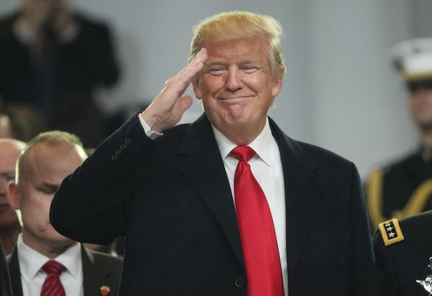 Donald Trump /JUSTIN LANE /PAP/EPA