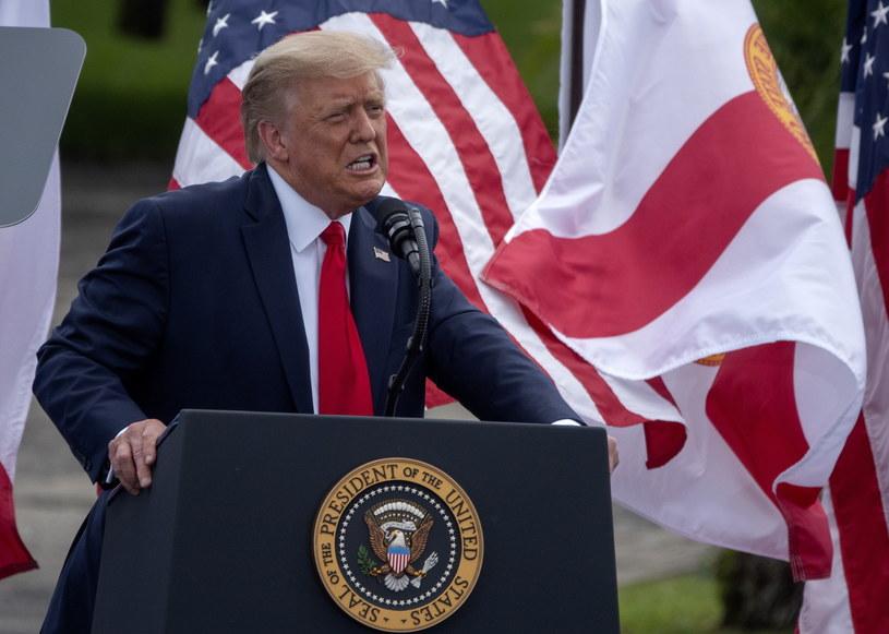Donald Trump /CRISTOBAL HERRERA-ULASHKEVICH /PAP/EPA