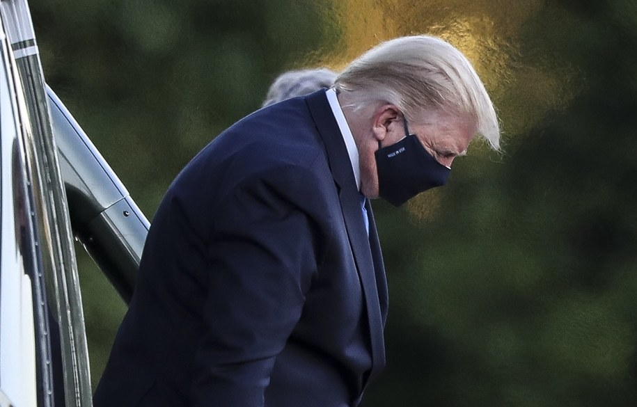 Donald Trump /Oliver Contreras/POOL /PAP/EPA