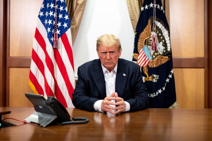 Donald Trump /THE WHITE HOUSE / TIA DUFOUR / HANDOUT /PAP/EPA