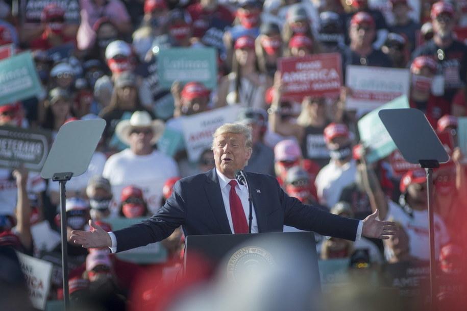 Donald Trump /RICK D'ELIA /PAP/EPA
