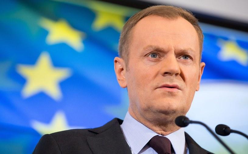 Donald Tusk, Andrzej Iwanczuk/REPORTER /East News