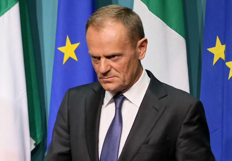 Donald Tusk: Brexit mi się nie podoba /PAUL FAITH    /AFP