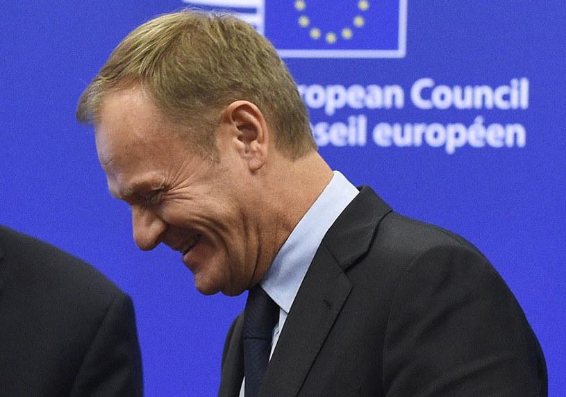"""""""Donald Tusk doskonale wiedział, że jego słowa spotkają się z reakcją"""" /AFP"""