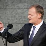 Donald Tusk: Dziękuję warszawiakom