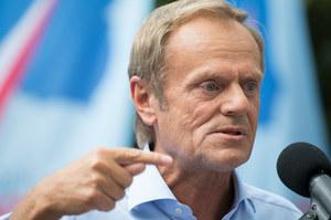Donald Tusk: Elżbieta Witek popełniła przestępstwo kryminalne
