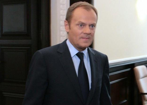 Donald Tusk, fot. Jacek Waszkiewicz /Reporter