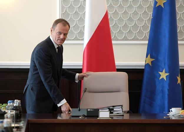 Donald Tusk, fot. Leszek Szymański /PAP