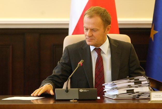 Donald Tusk, fot. Paweł Kula /PAP