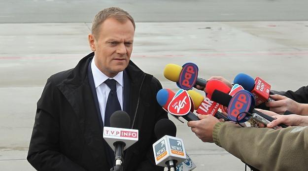 Donald Tusk, fot. Radek Pietruszka /PAP