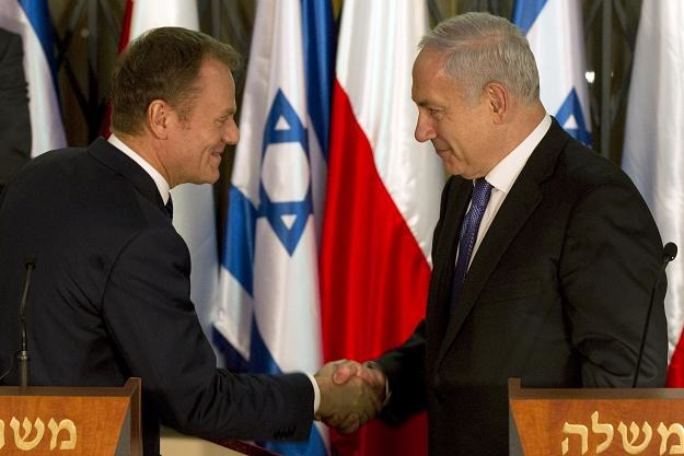 Donald Tusk i Beniamin Netanyahu /AFP