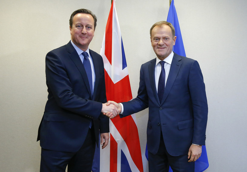 Donald Tusk i David Cameron, zdj. ilustracyjne /AFP