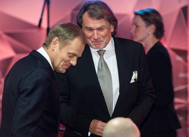 Donald Tusk i Jan Kulczyk /Bartosz Krupa /East News