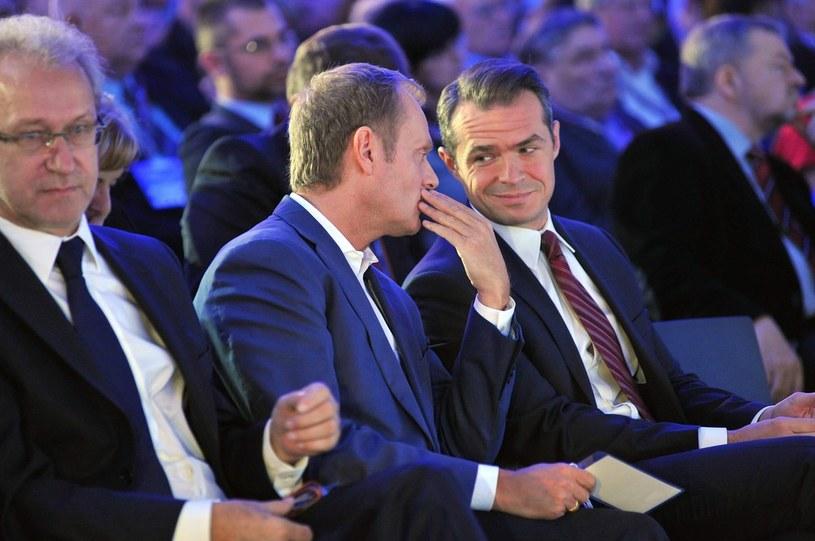 Donald Tusk i Sławomir Nowak /Wojciech Stróżyk /Reporter