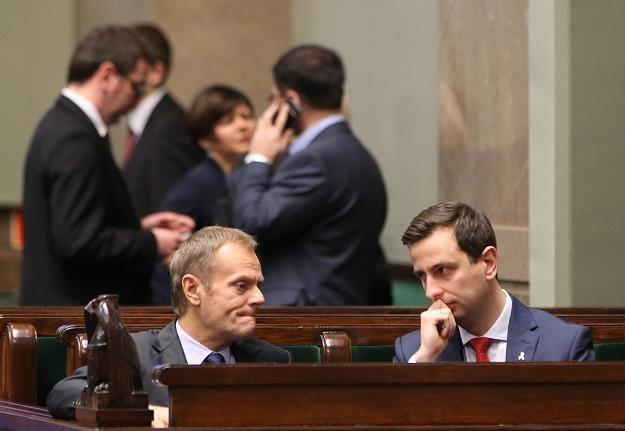Donald Tusk i Władyslaw Kosiniak-Kamysz /Agencja SE/East News