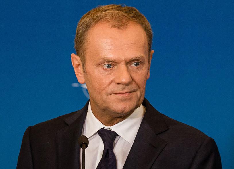 """Donald Tusk """"jest jednak dzisiaj politykiem europejskim, zaangażowanym w sprawy europejskie"""" /AFP"""