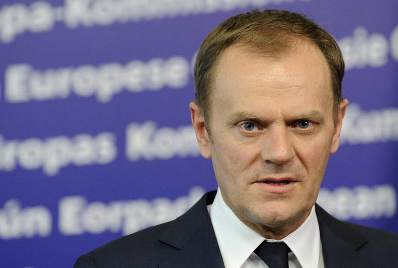 Donald Tusk komentuje kłopoty Antoniego Macierewicza. /AFP