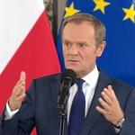 Donald Tusk kontra Miłosz Kłeczek. Starcie na konferencji