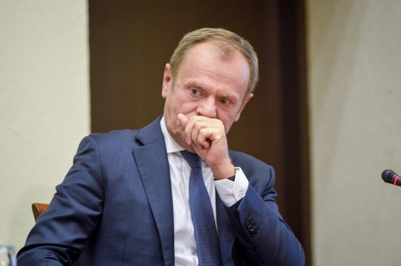 Donald Tusk ma zeznawać przed komisją ds. VAT w poniedziałek 17 czerwca /Zbyszek Kaczmarek/REPORTER /Reporter