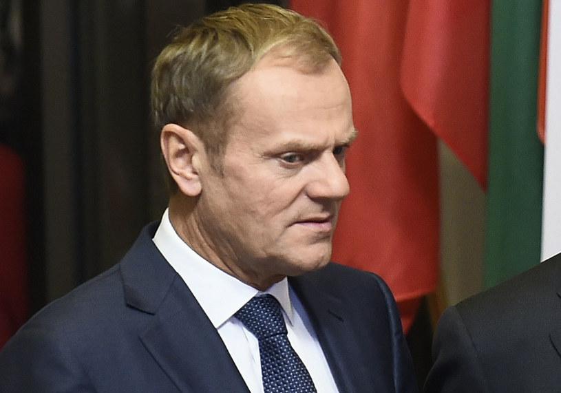 Donald Tusk: Musimy być w stanie przekonać obywateli, że wolny handel jest w ich interesie /AFP