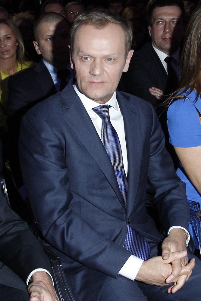 Donald Tusk na Gali Polskiej Rady Biznesu /Engelbrecht /AKPA