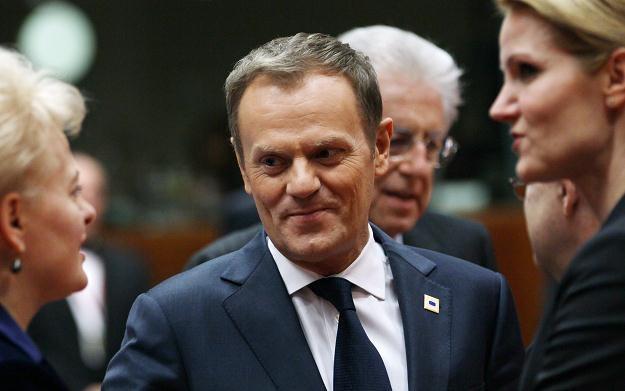 Donald Tusk na szczycie UE /PAP/EPA