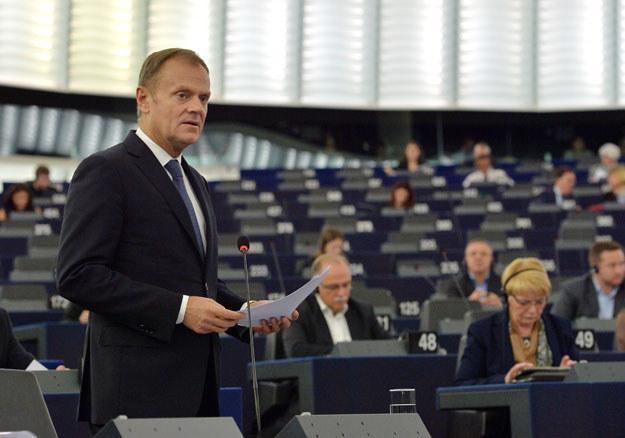 Donald Tusk: Należy przyspieszyć z działaniami, by uniknąć najgorszego scenariusza /AFP
