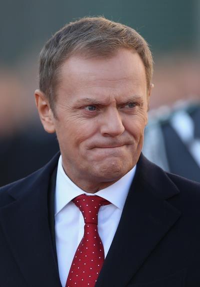 Donald Tusk nie widzi nic złego w zaległościcah kopalń... Fot. Sean Gallup /Getty Images/Flash Press Media