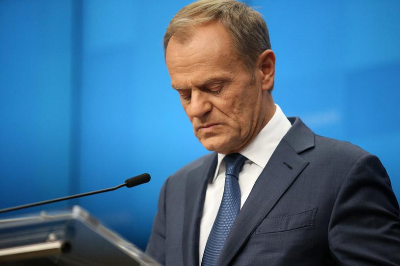 Donald Tusk: Nienawiść wciąż wylewa się z mediów publicznych /Dominika Zarzycka/NurPhoto /Getty Images
