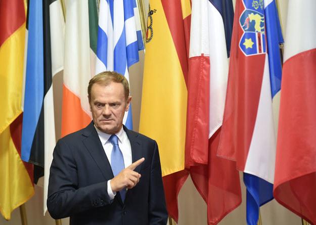 """Donald Tusk o Brexicie: """"Zabrałoby to co najmniej pięć lat"""" /AFP"""