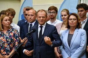 """Donald Tusk podziękował uczestnikom protestów. """"Utrzymaliście wiarę wielu Polaków"""""""