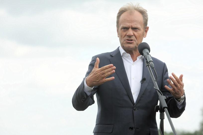 Donald Tusk: Polskie granice muszą być szczelne i dobrze chronione /Artur Reszko /PAP
