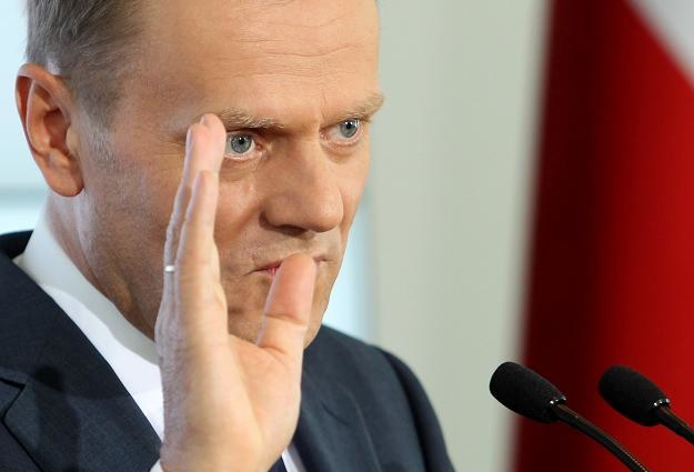 Donald Tusk, premier RP/fot. Radek Pietruszka /PAP