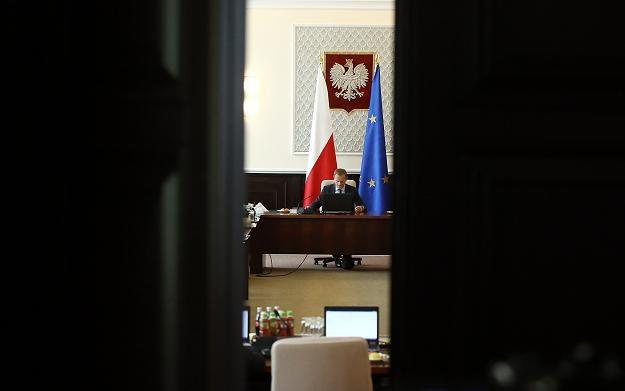 Donald Tusk, premier rządu RP, jest spokojny o pieniądze z Brukseli /PAP