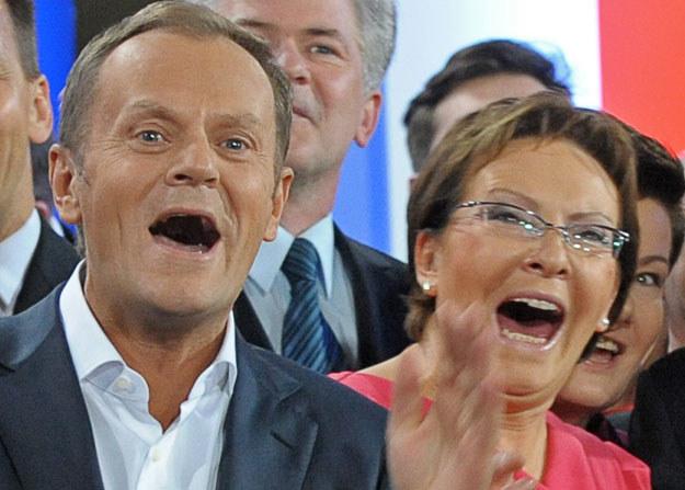 Donald Tusk problem górnictwa przerzucił na Ewę Kopacz /Janek Skarżyński /AFP