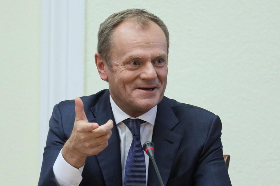 Donald Tusk przed komisją śledczą /Paweł Supernak /PAP