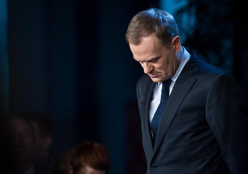 Donald Tusk przeprosił za słowa wicepremier /Bartosz Krupa /East News