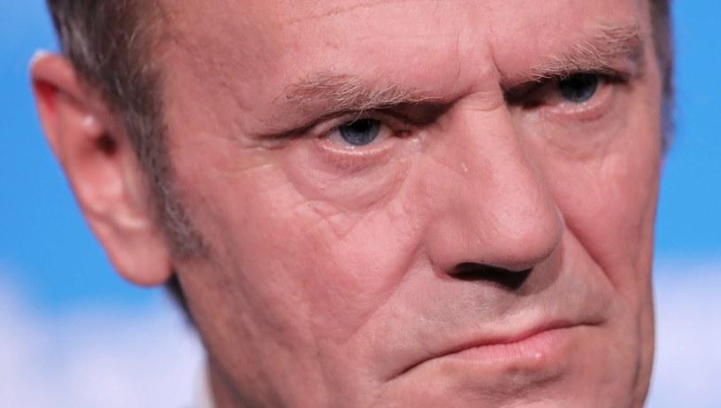 Donald Tusk, przewodniczący Platformy Obywatelskiej /PAP
