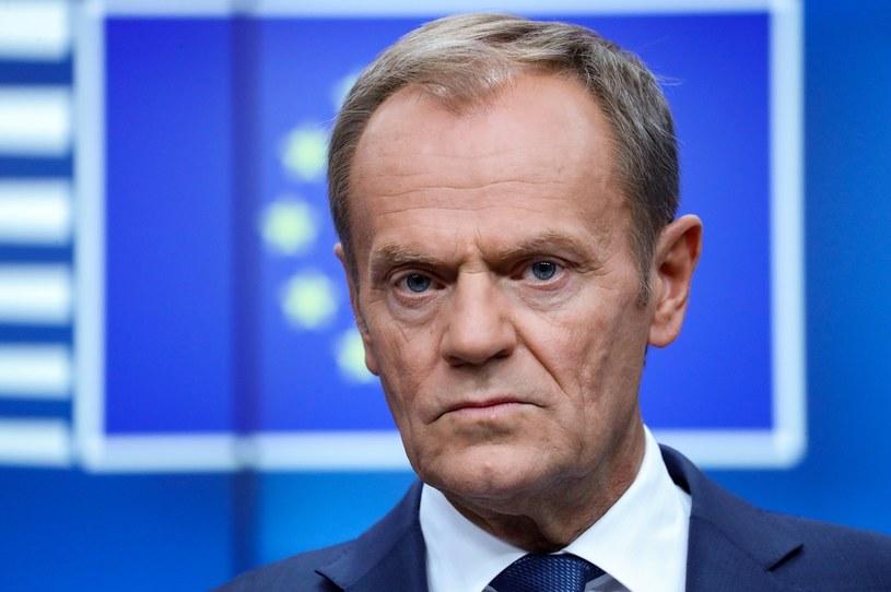 Donald Tusk przewodzi Europejskiej Partii Ludowej /AFP