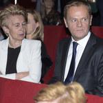 Donald Tusk przyjechał do Polski na premierę filmu o piłkarzu Górnika Zabrze