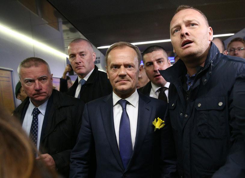 Donald Tusk przyjechał do Warszawy /Krystian Maj /Agencja FORUM