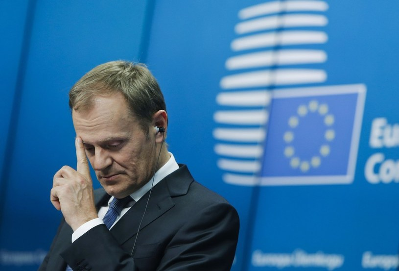 Donald Tusk, szef Rady Europejskiej /Xinhua News /East News