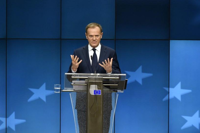 Donald Tusk, szef RE /AFP
