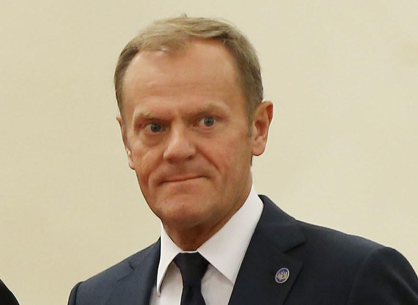 """Donald Tusk: """"Ta komisja jest wycelowana we mnie"""" /AFP"""
