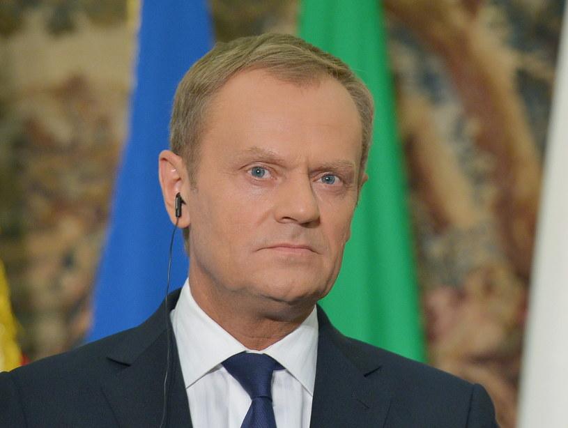 Donald Tusk: Tak osobiście jest mi przykro, jak słyszę tego typu słowa /Radek Pietruszka /PAP