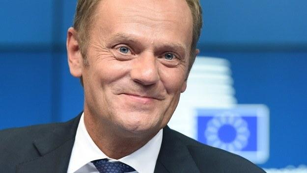 Donald Tusk w Brukseli /Adam Warżawa /PAP