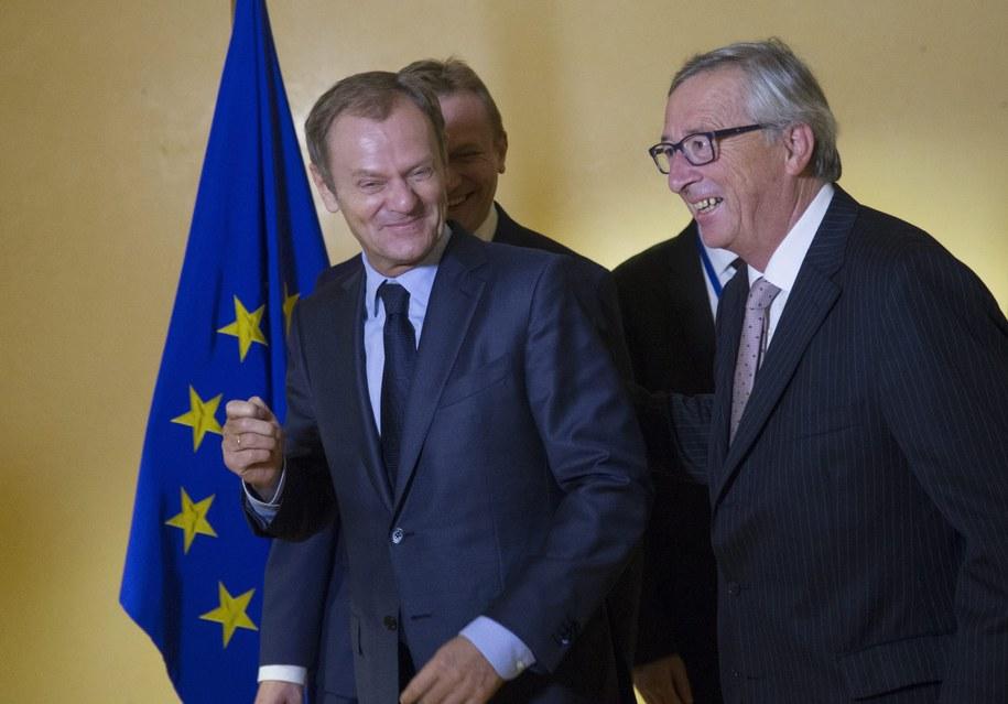 Donald Tusk w Brukseli /OLIVIER HOSLET /PAP/EPA